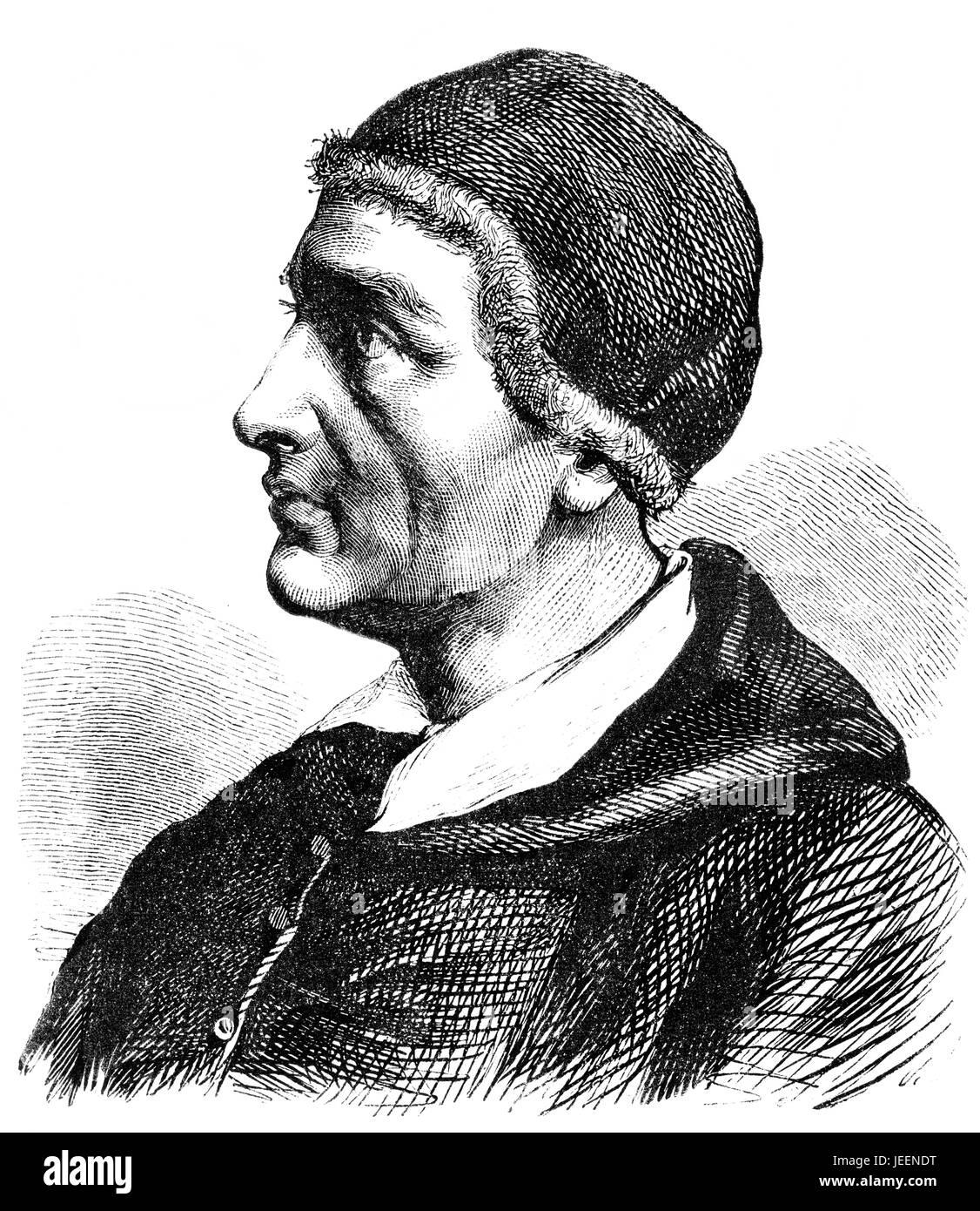 El Papa Inocencio I, sirvió como la Iglesia Católica, el Papa desde 401 hasta su muerte en el 417 Imagen De Stock