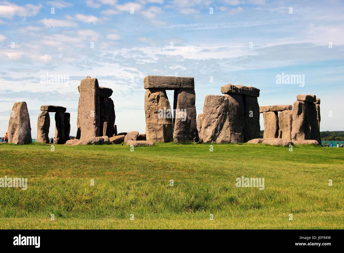 Stonehenge, Wiltshire, Gran Bretaña, Grossbritannien Imagen De Stock