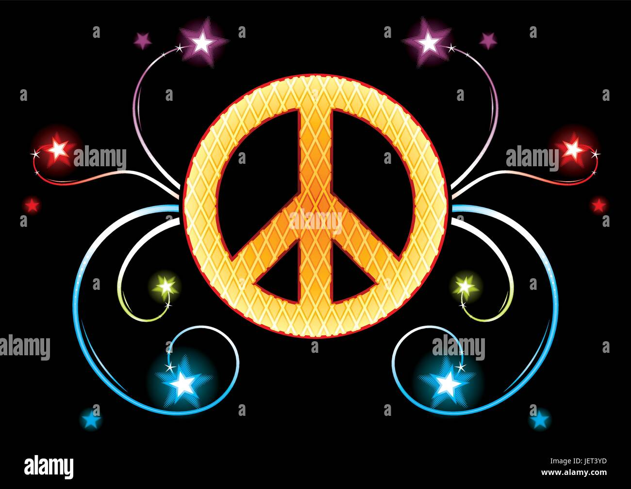 Guerra, paz, pacífica, firme pacifista, el pacifismo, el pictograma, símbolo pictograma, Imagen De Stock