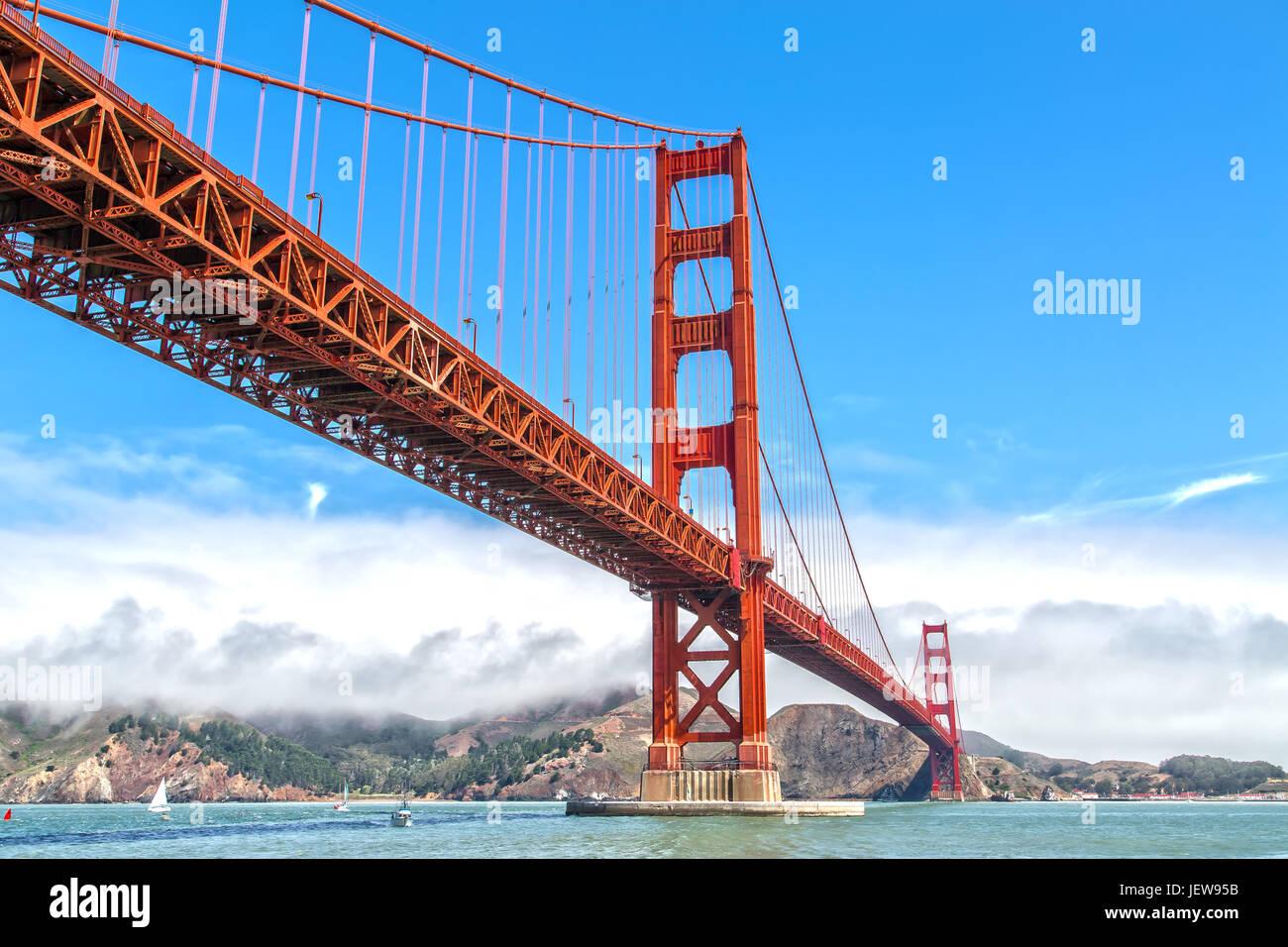Puente Golden Gate San Francisco Imagen De Stock