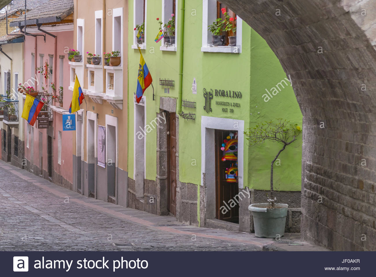 La Ronda Quito Ecuador Imagen De Stock