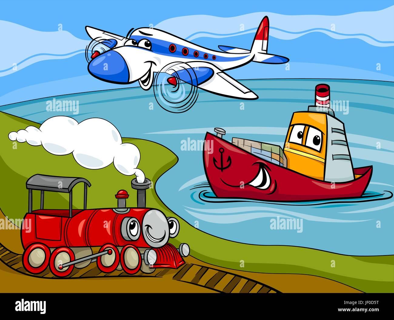 Dibujos Animados Aviones