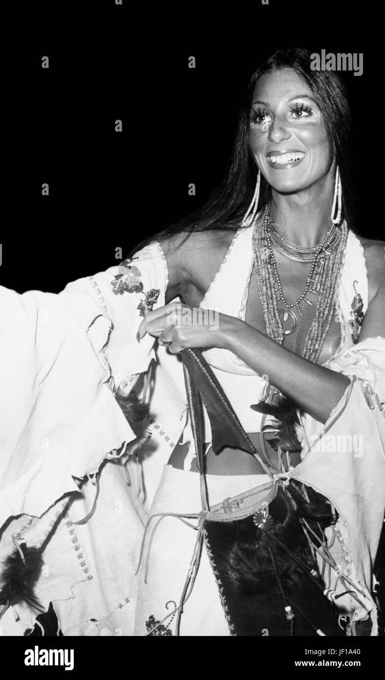 Cher, 1973 Imagen De Stock