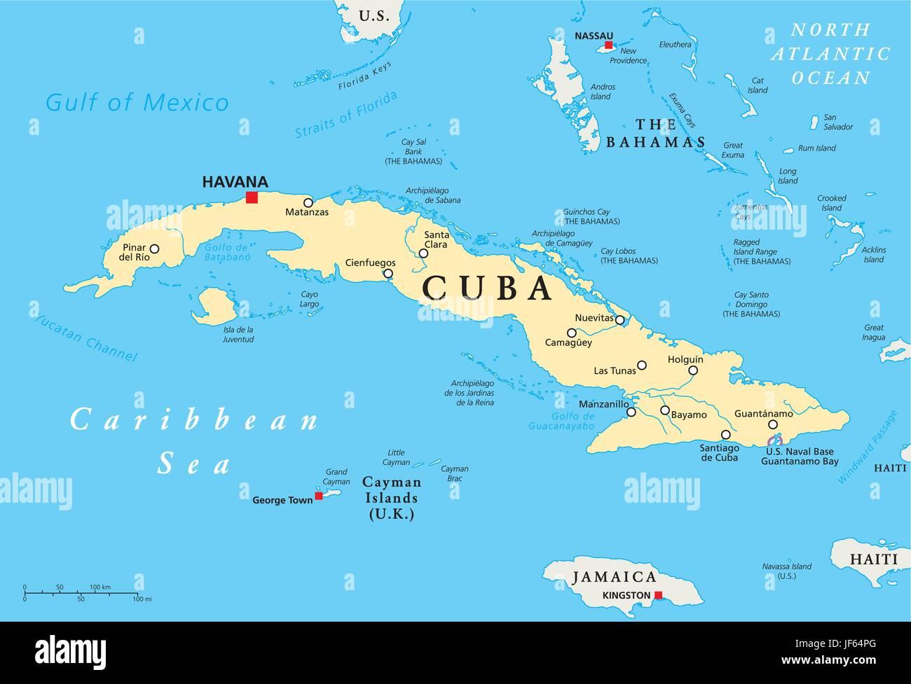 Cuba Mapa Del Mundo.Viajes Cuba La Habana Mapas Atlas Mapa Del Mundo Viajes Politica Imagen Vector De Stock Alamy