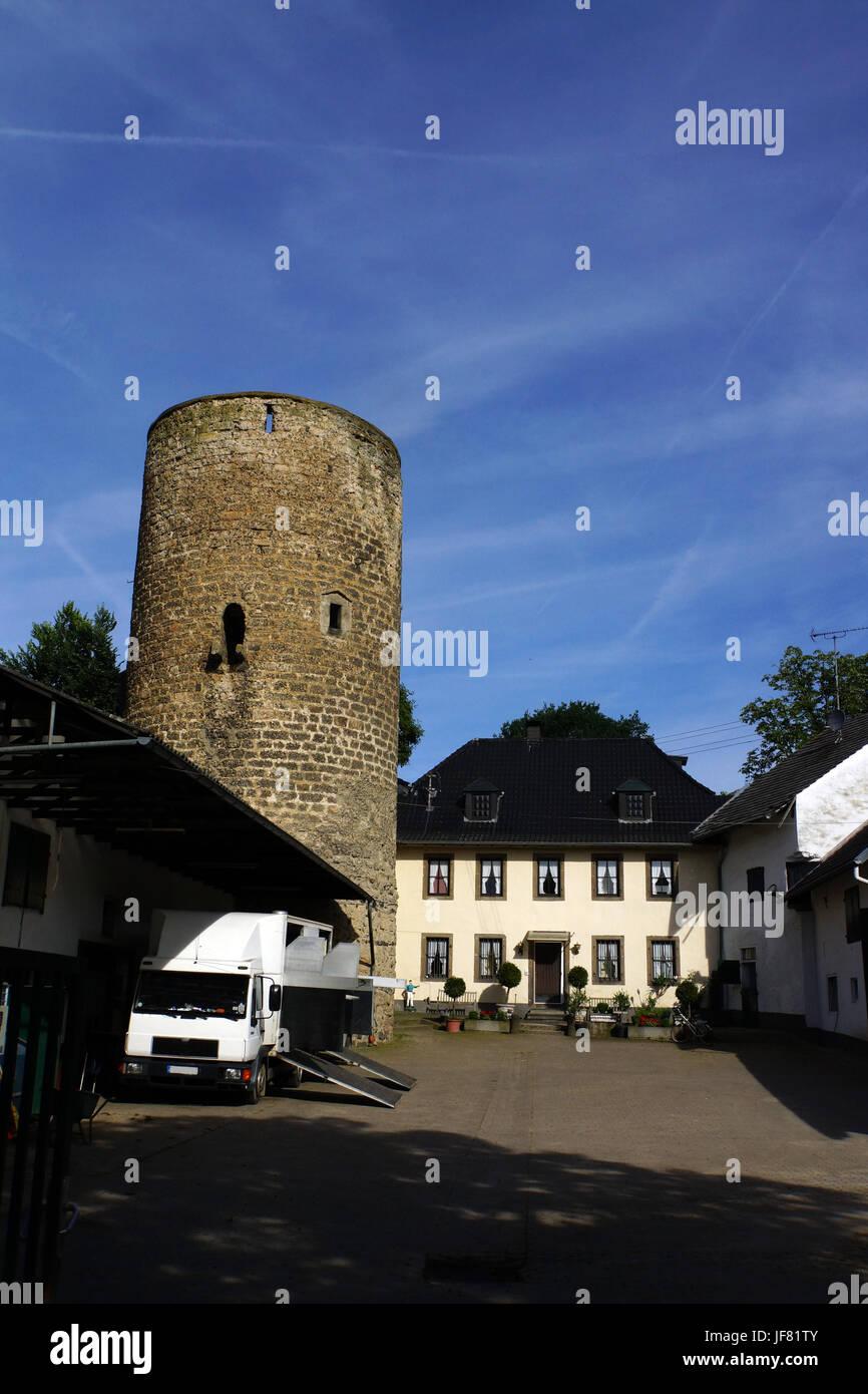 Castillo Münchhausen Foto de stock