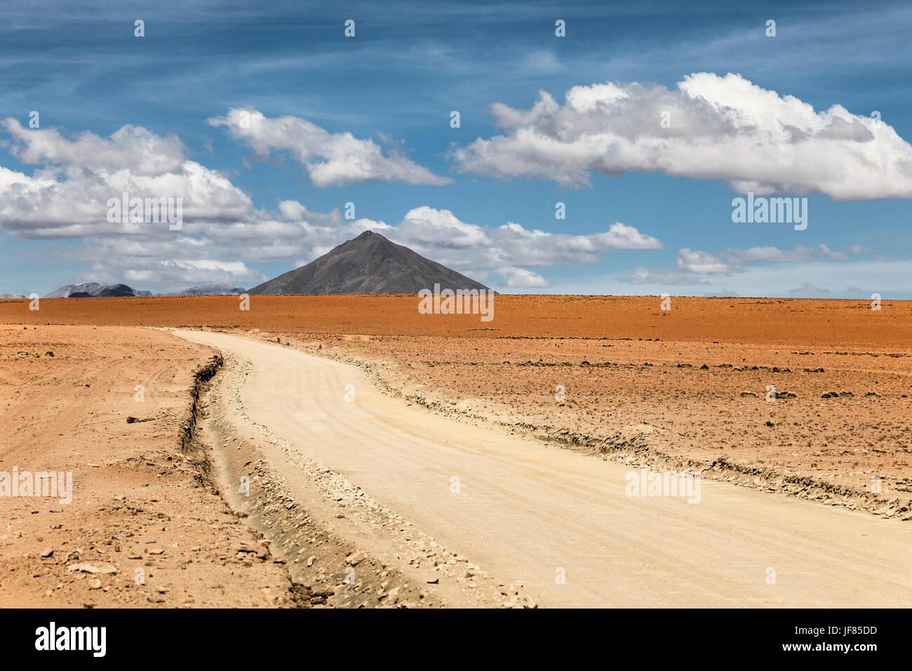 Altiplano de Bolivia. Imagen De Stock