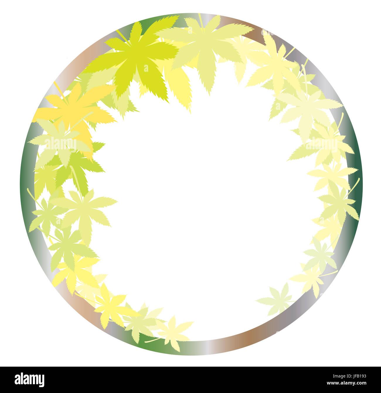 Arces en otoño las hojas con diferentes matices de colores Imagen De Stock