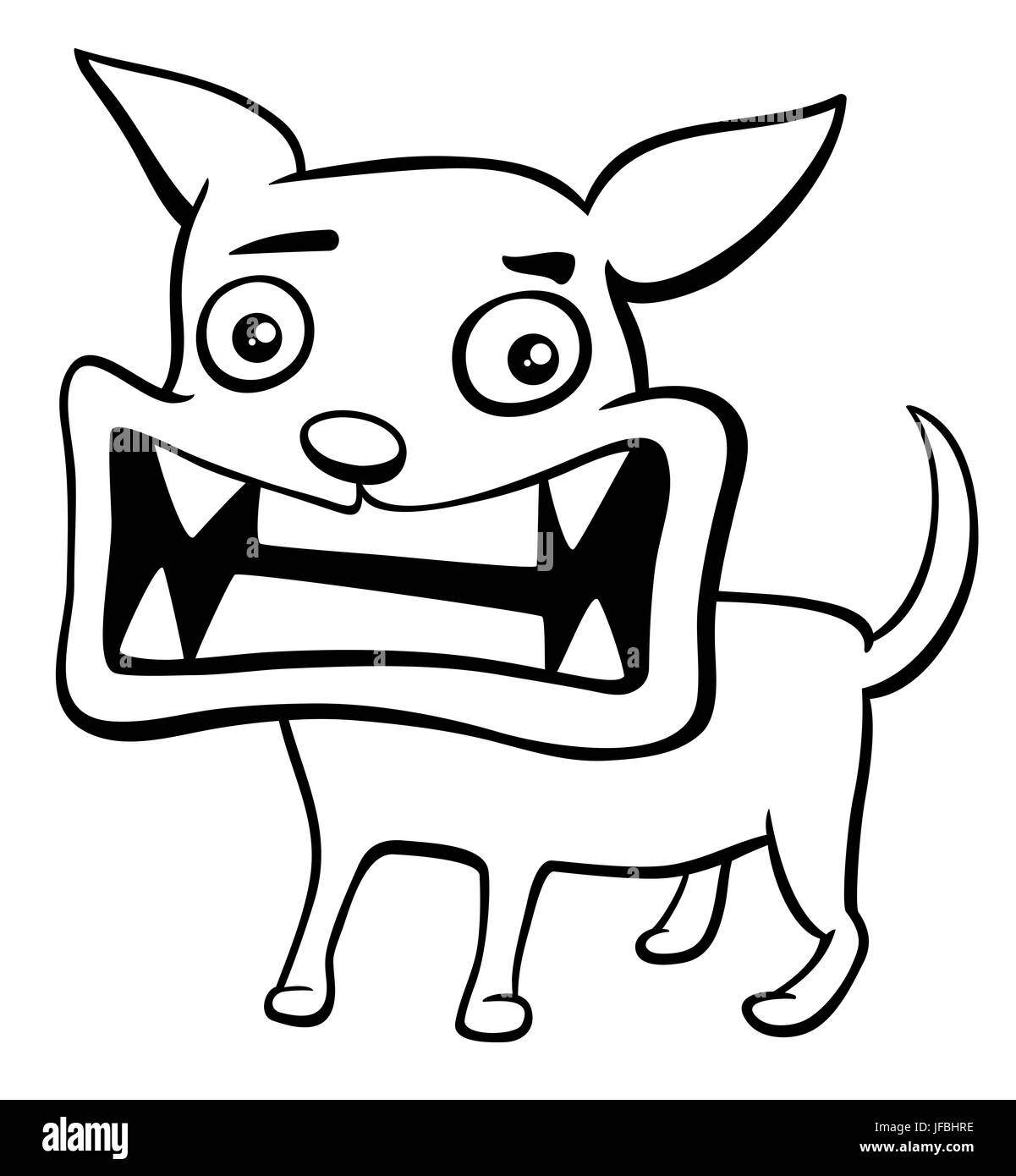 Funny Angry White Chihuahua Dog Imágenes De Stock & Funny Angry ...