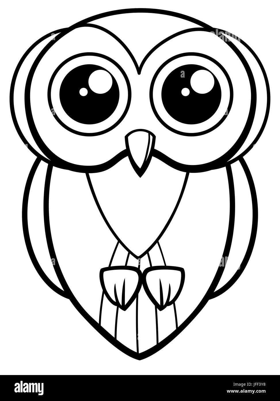Owl Book Character Vector Imágenes De Stock Owl Book Character