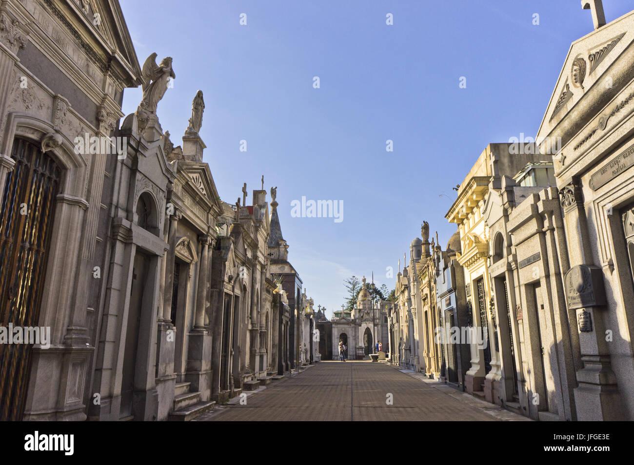 El Cementerio de La Recoleta, Buenos Aires, Argentina Imagen De Stock