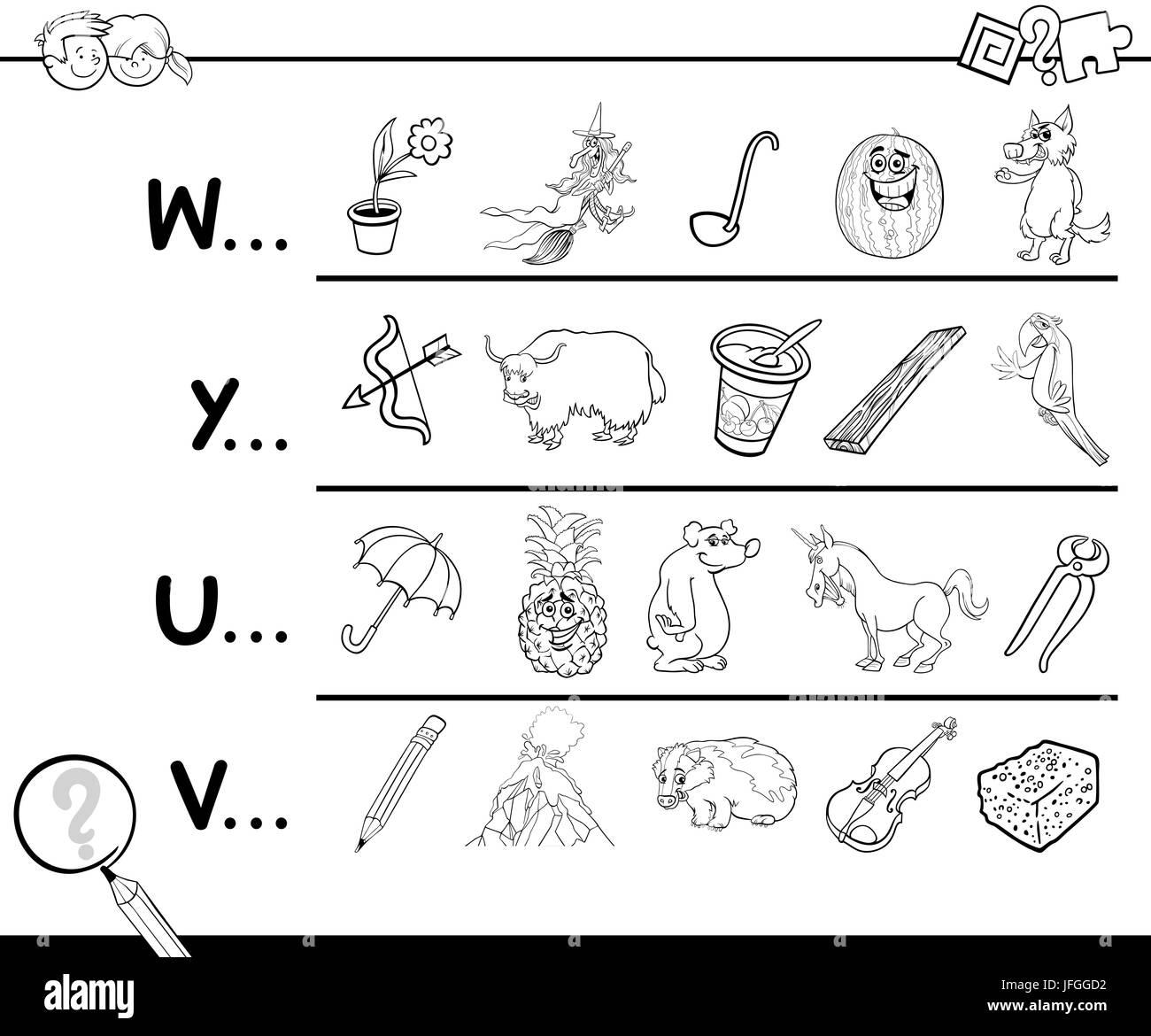 Cartoon Letter Y Imágenes De Stock & Cartoon Letter Y Fotos De Stock ...