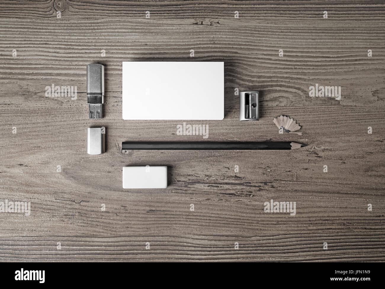 Plantilla de papeleo en blanco para los diseñadores. Maqueta de ...