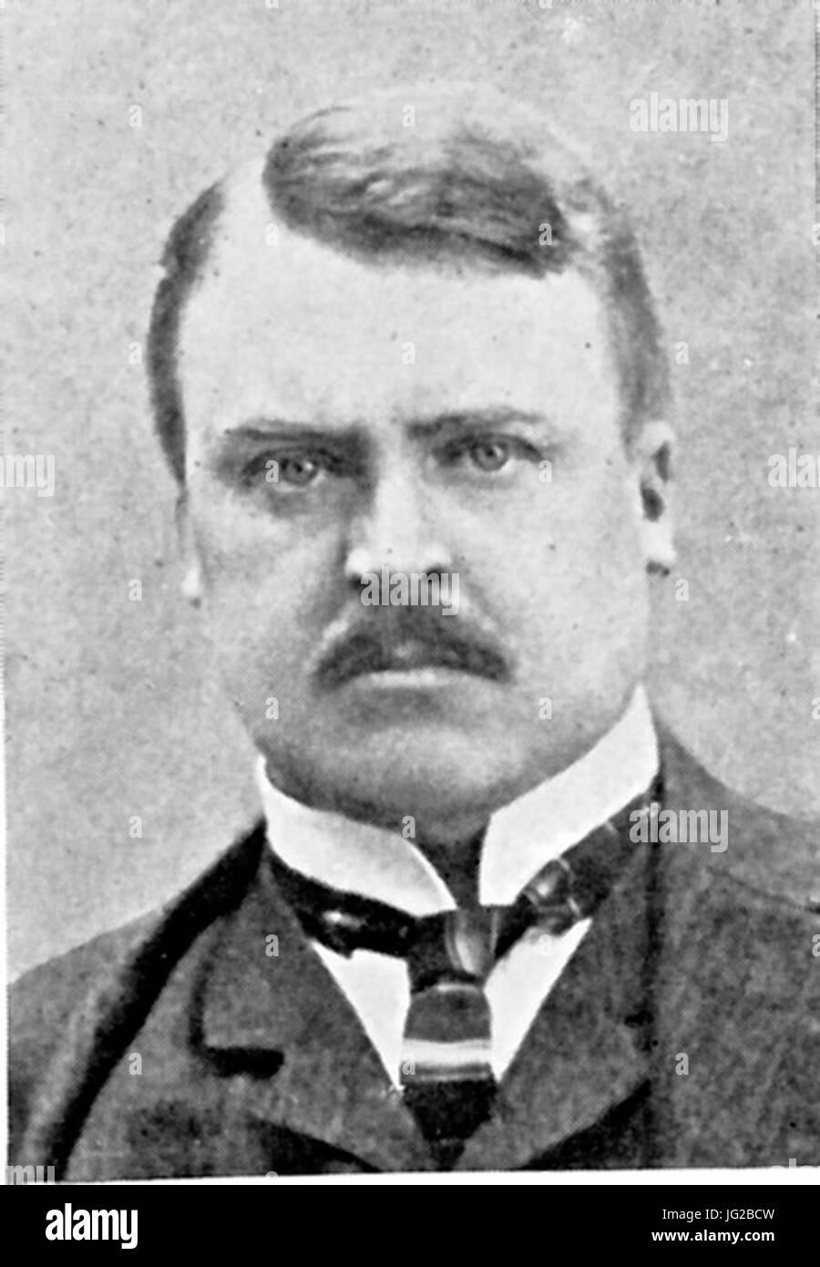 Johan Hjort (1869-1948) Foto de stock