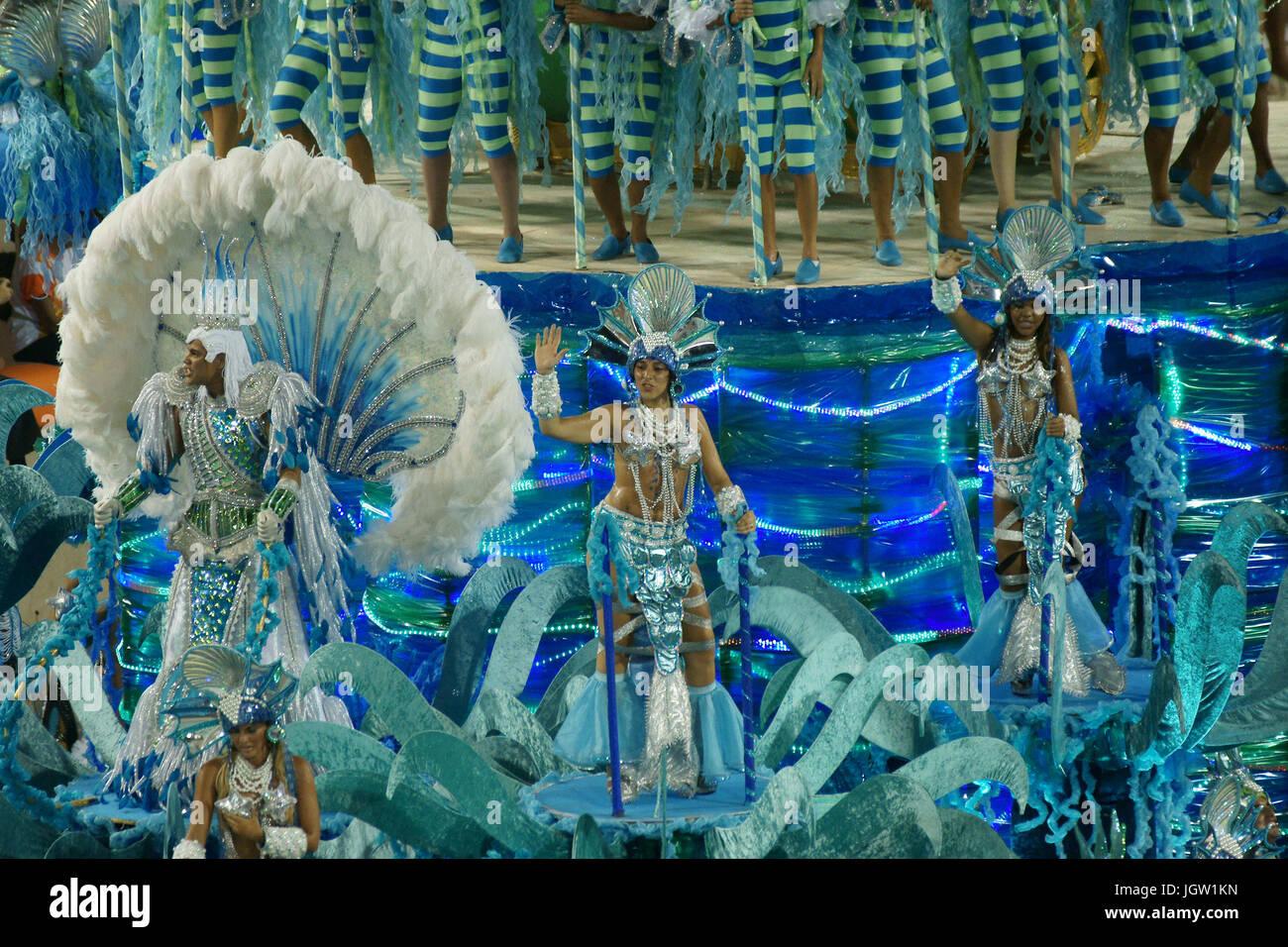 Imperatriz, Carnaval, Rio de Janeiro, Brasil Imagen De Stock