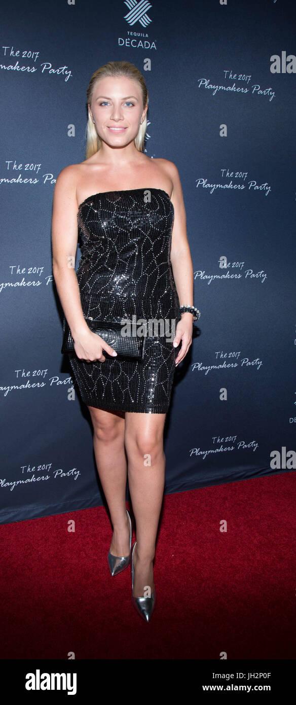 Valerie atiende 2017 centrocampistas gracia parte viva hollywood julio 11,2017 Hollywood, California. Foto de stock
