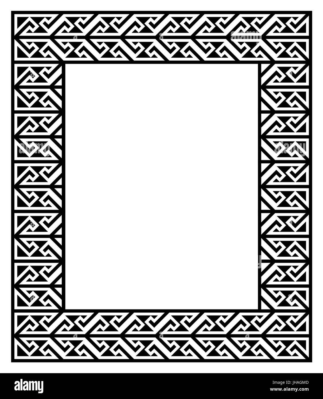 Celtic Knot Decorative Border Imágenes De Stock & Celtic Knot ...