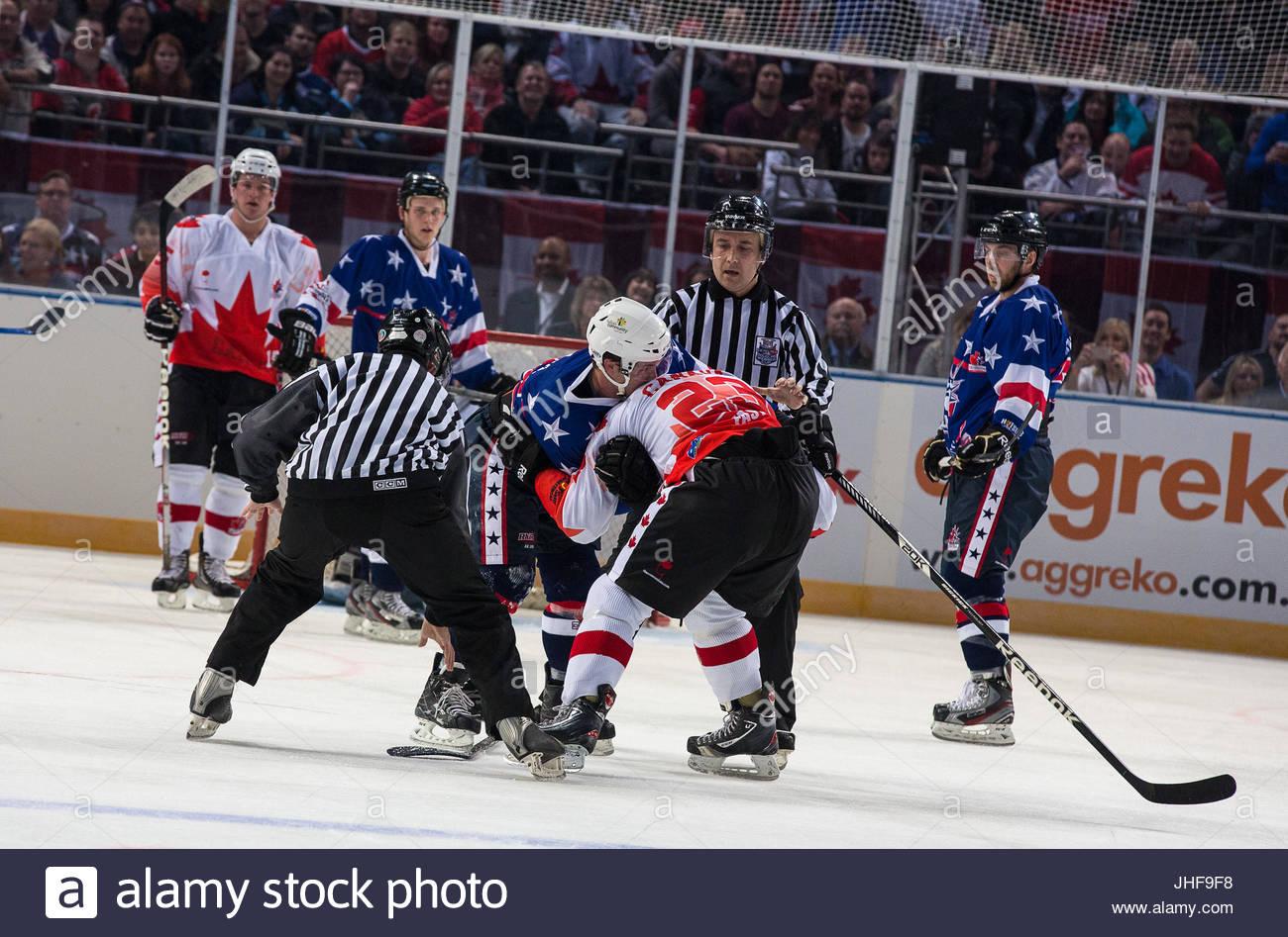 Encantador Jugador De Hockey Para Colorear Bandera - Enmarcado Para ...