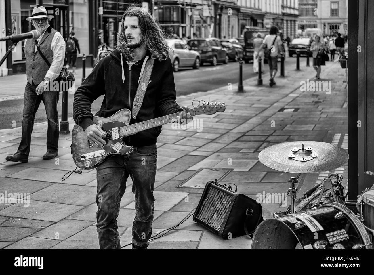 La fotografía de la calle Bath UK Imagen De Stock