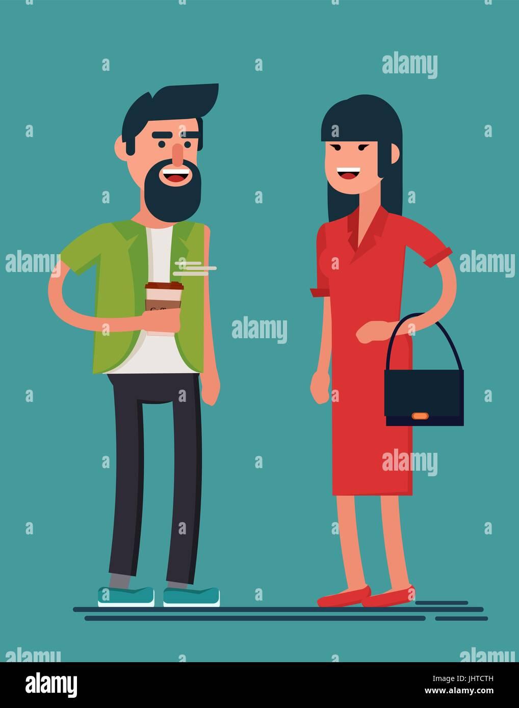 Hombre barbudo vestido de mujer