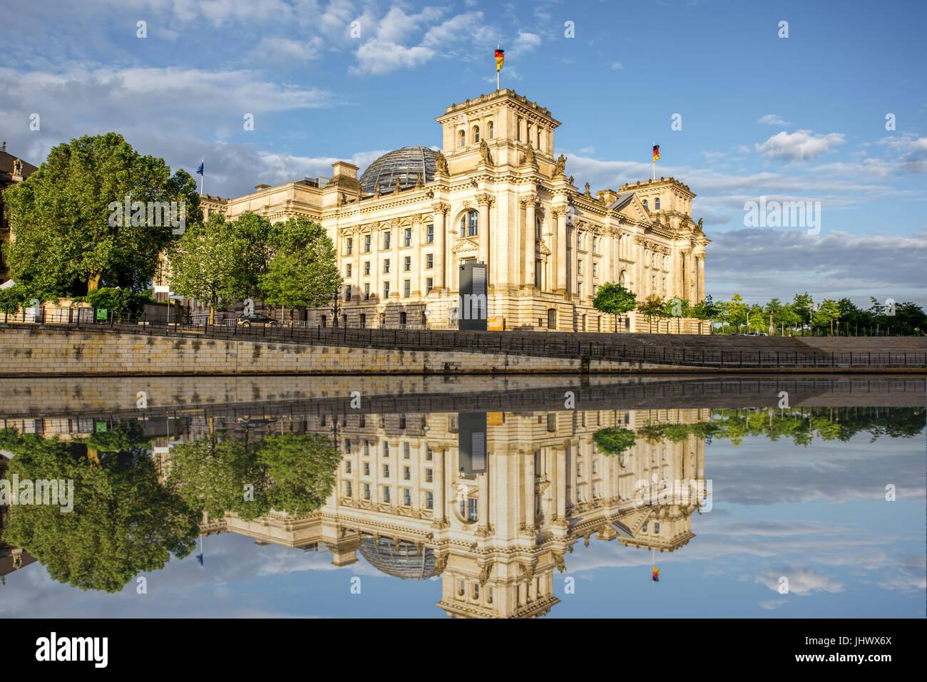 Vista de la ciudad de Berlín Imagen De Stock
