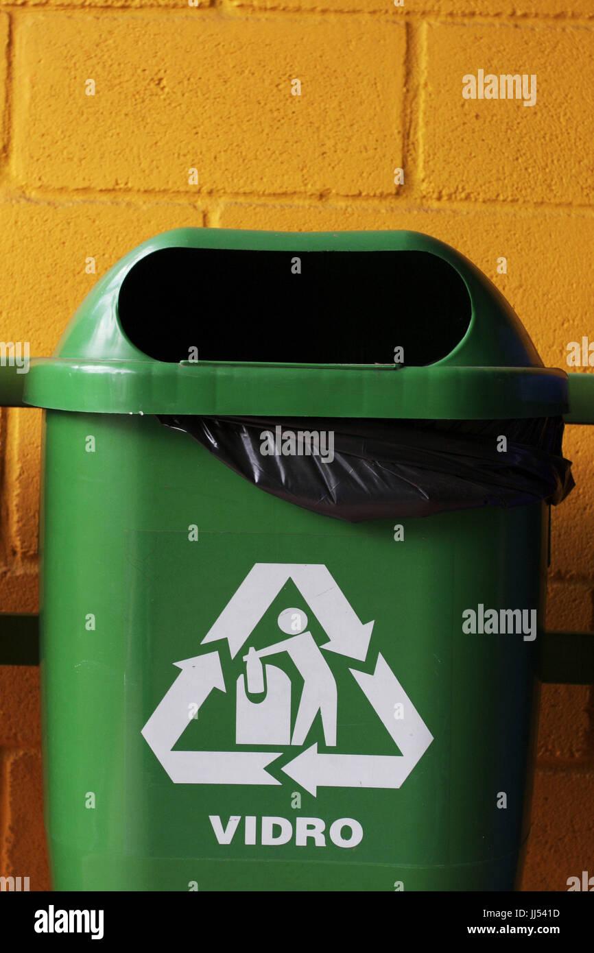 Basura reciclable, São Paulo, Brasil Foto de stock