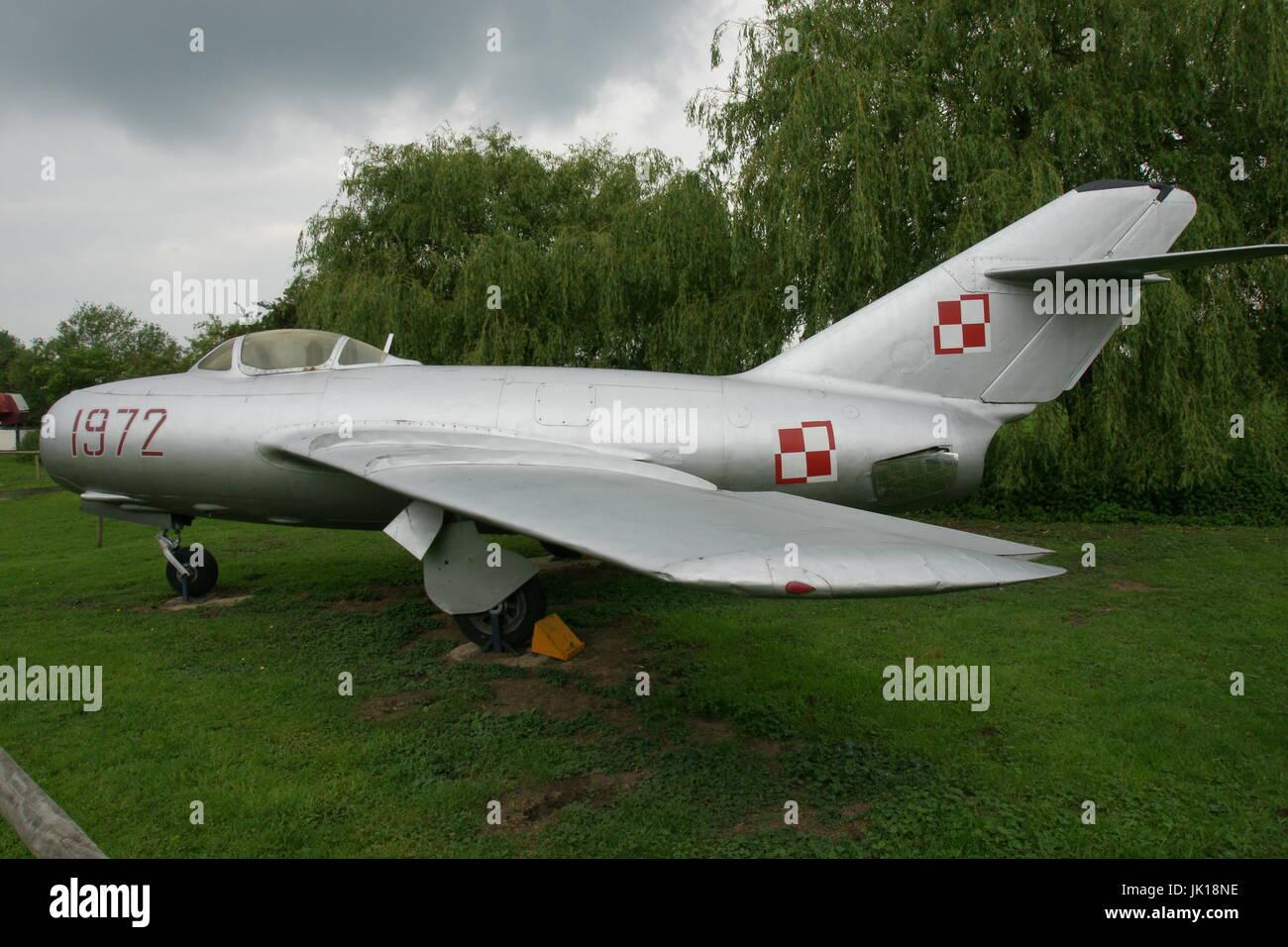 Guerra fría, MIG-15 jet fighter Imagen De Stock