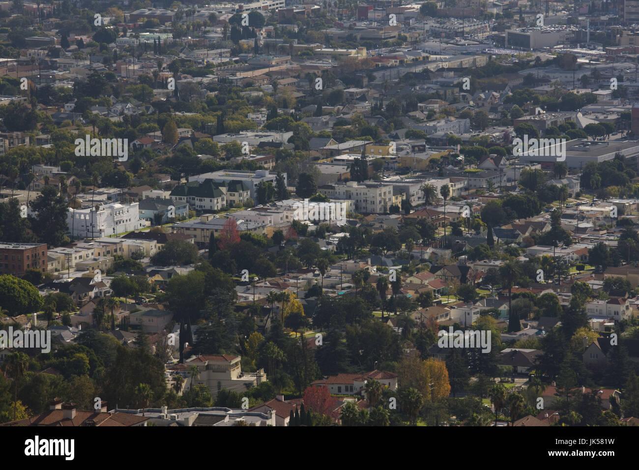 California, Estados Unidos, Los Angeles, Loz Feliz vecindario del Griffith Park Imagen De Stock