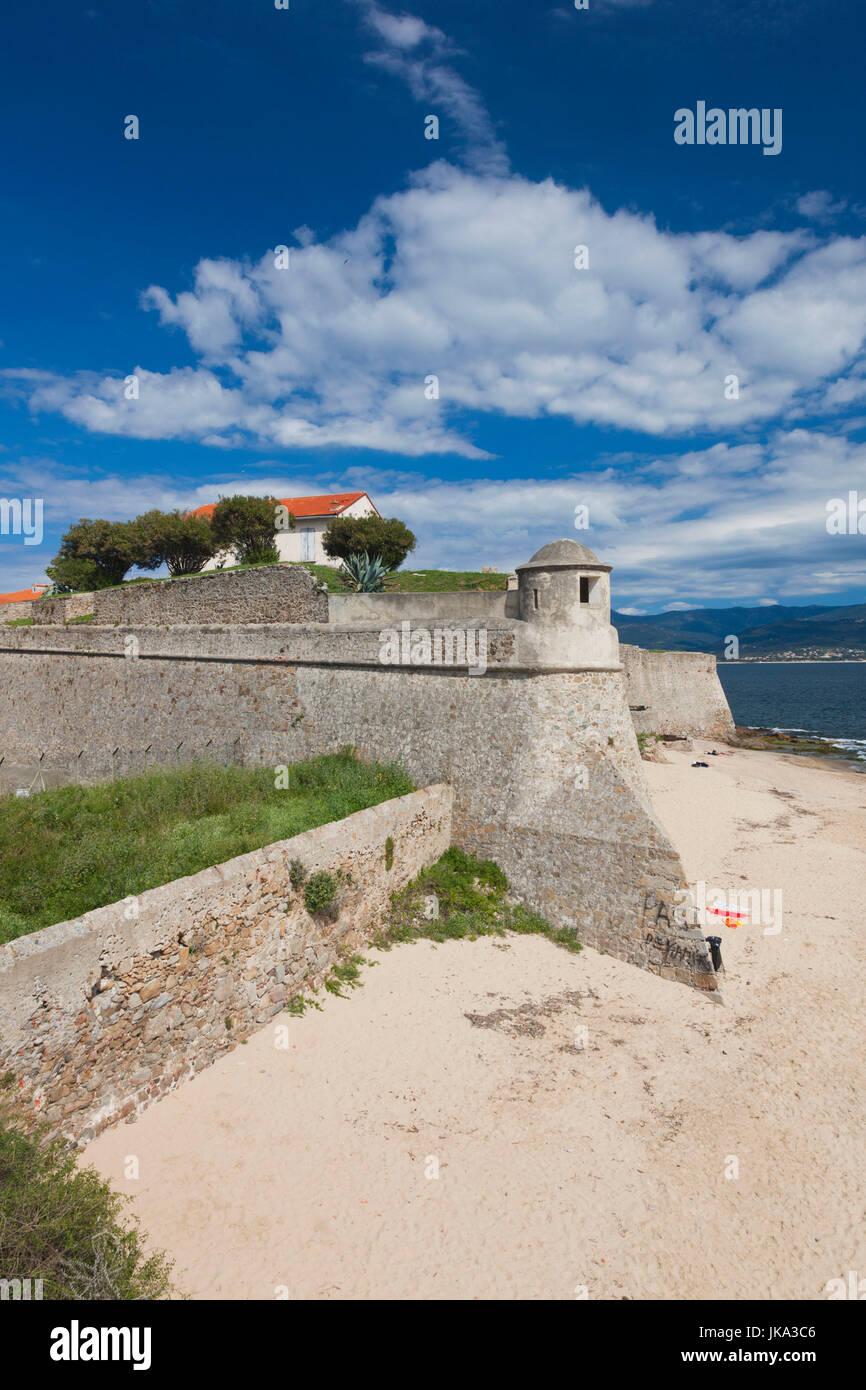Francia, Córcega, Corse-du-Sud departamento, región de la costa oeste de Córcega, Ajaccio, la Ciudadela Foto de stock