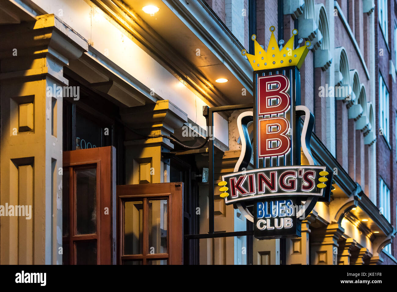 BB King's Blues Club, Nashville, Tennessee, EE.UU. Imagen De Stock
