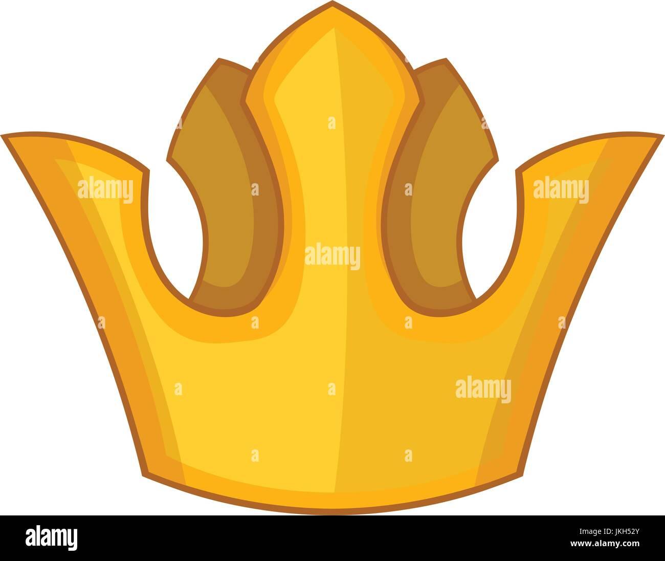 La Reina De La Corona El Icono De Estilo De Dibujos Animados