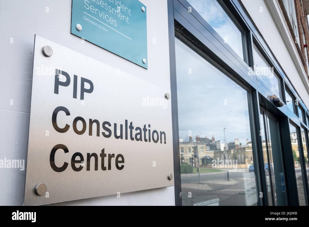 PIP ( independencia personal pagos ) Centro de Consulta, Southampton, Hampshire, Reino Unido Imagen De Stock