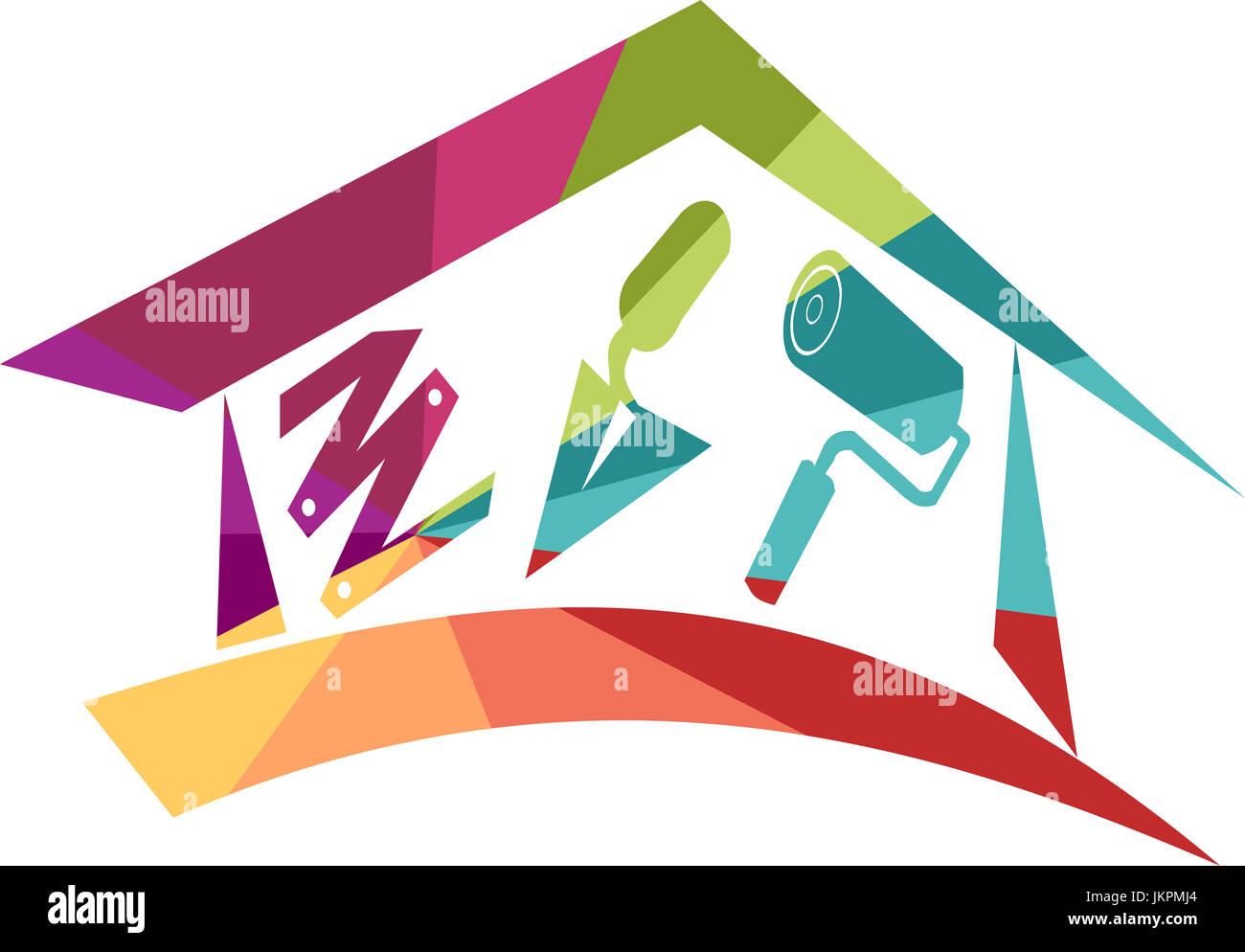 Muy Colorido Icono De Bricolaje Para Ilustrar Todo El Trabajo En Una - Trabajos-que-se-pueden-hacer-en-casa