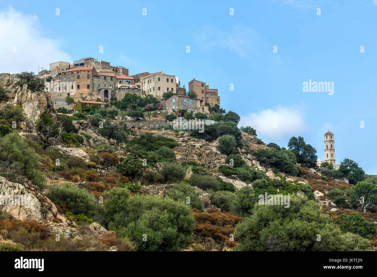 Sant'Antonino, Córcega, Francia Imagen De Stock