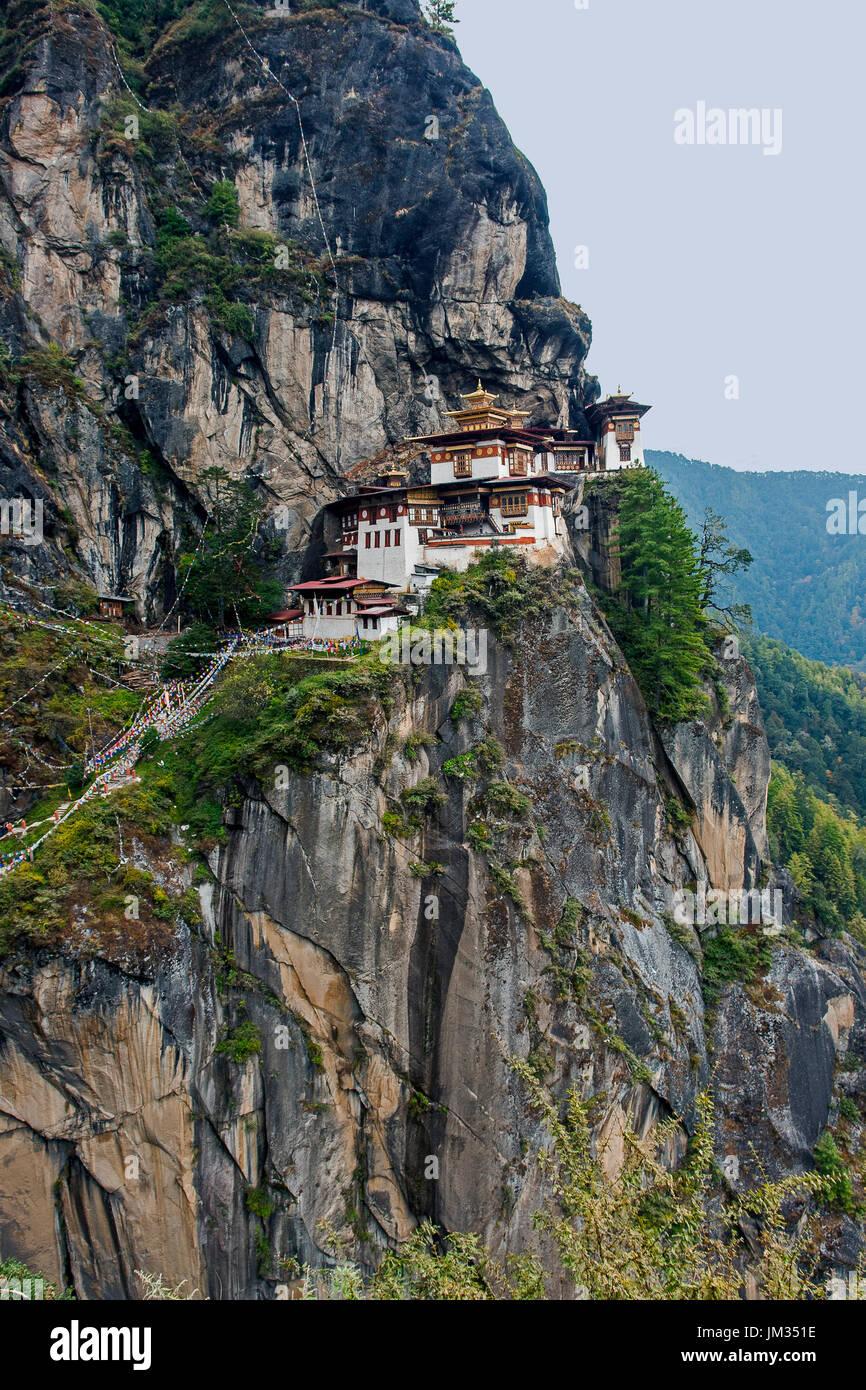 Paro Taktsang - Bután Imagen De Stock