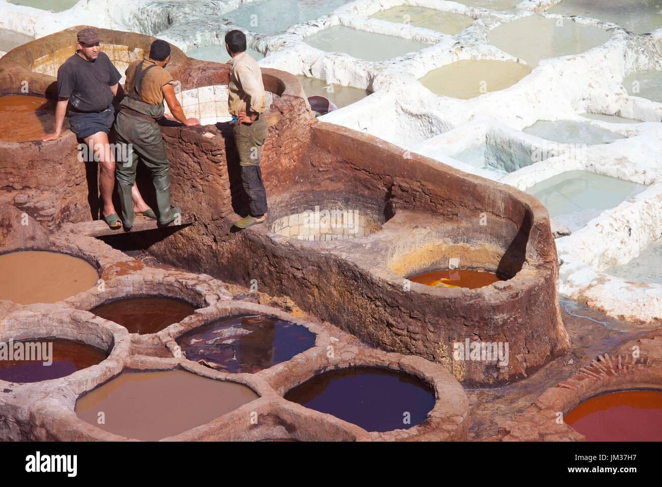 Fez, Marruecos Foto de stock