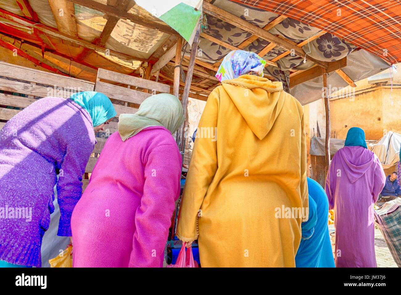 Las mujeres musulmanas, Imagen De Stock