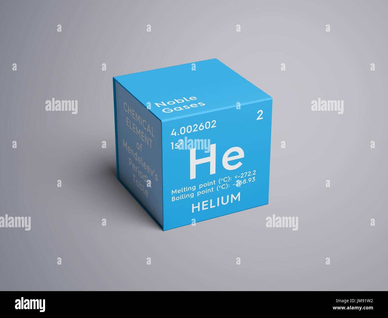Helio los gases nobles elemento qumico de la tabla peridica de helio los gases nobles elemento qumico de la tabla peridica de mendeleyev helio en square cube concepto creativo urtaz Images