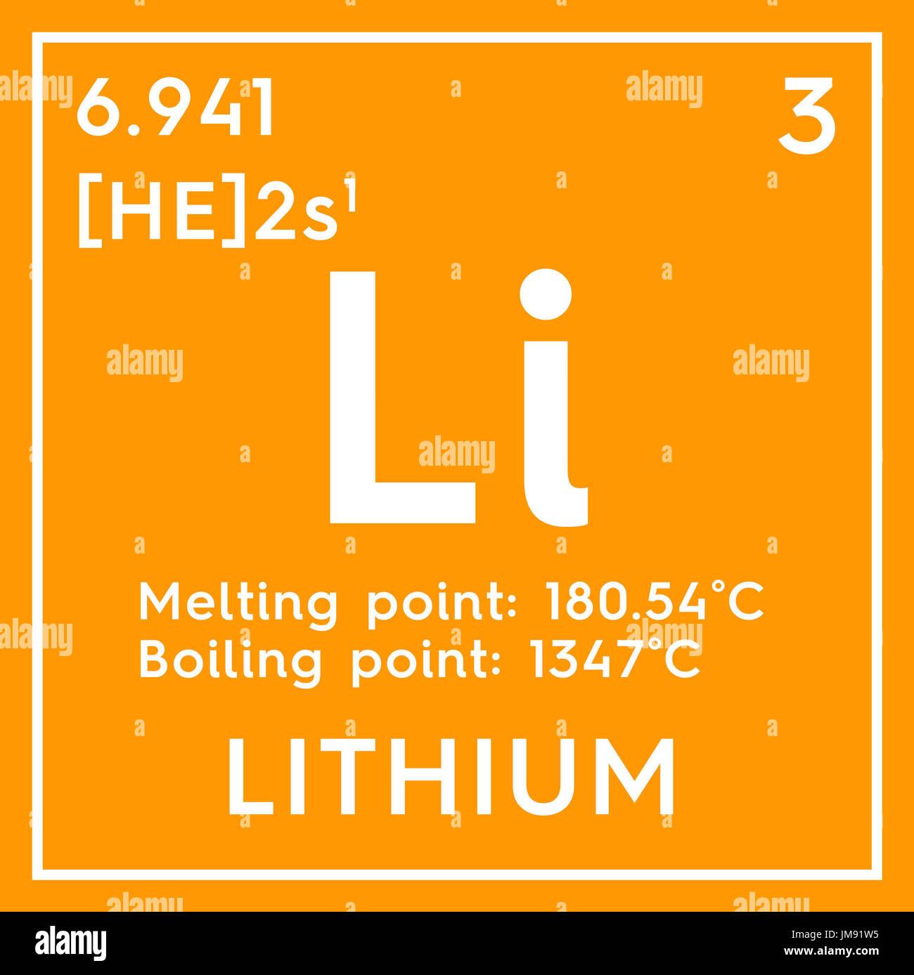 Litio metales alcalinos elemento qumico de la tabla peridica de metales alcalinos elemento qumico de la tabla peridica de mendeleyev litio en square cube concepto creativo urtaz Gallery