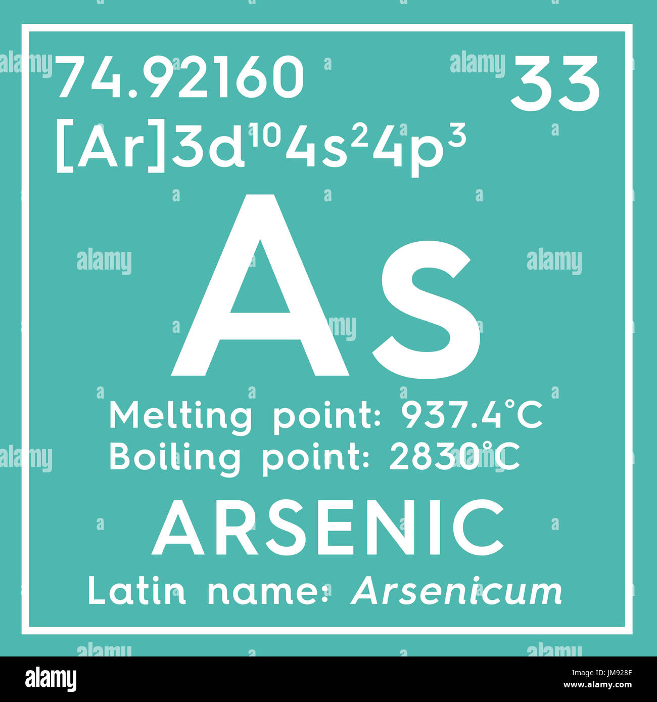 El arsnico arsenicum los metaloides elemento qumico de la el arsnico arsenicum los metaloides elemento qumico de la tabla peridica de mendeleyev arsnico en square cube concepto creativo urtaz Image collections