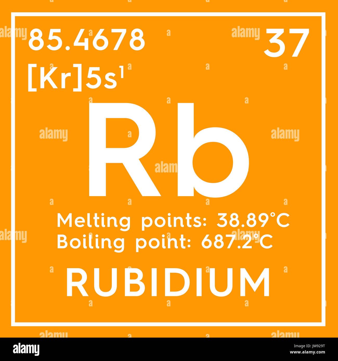 El rubidio metales alcalinos elemento qumico de la tabla metales alcalinos elemento qumico de la tabla peridica de mendeleyev el rubidio en square cube concepto creativo urtaz Gallery