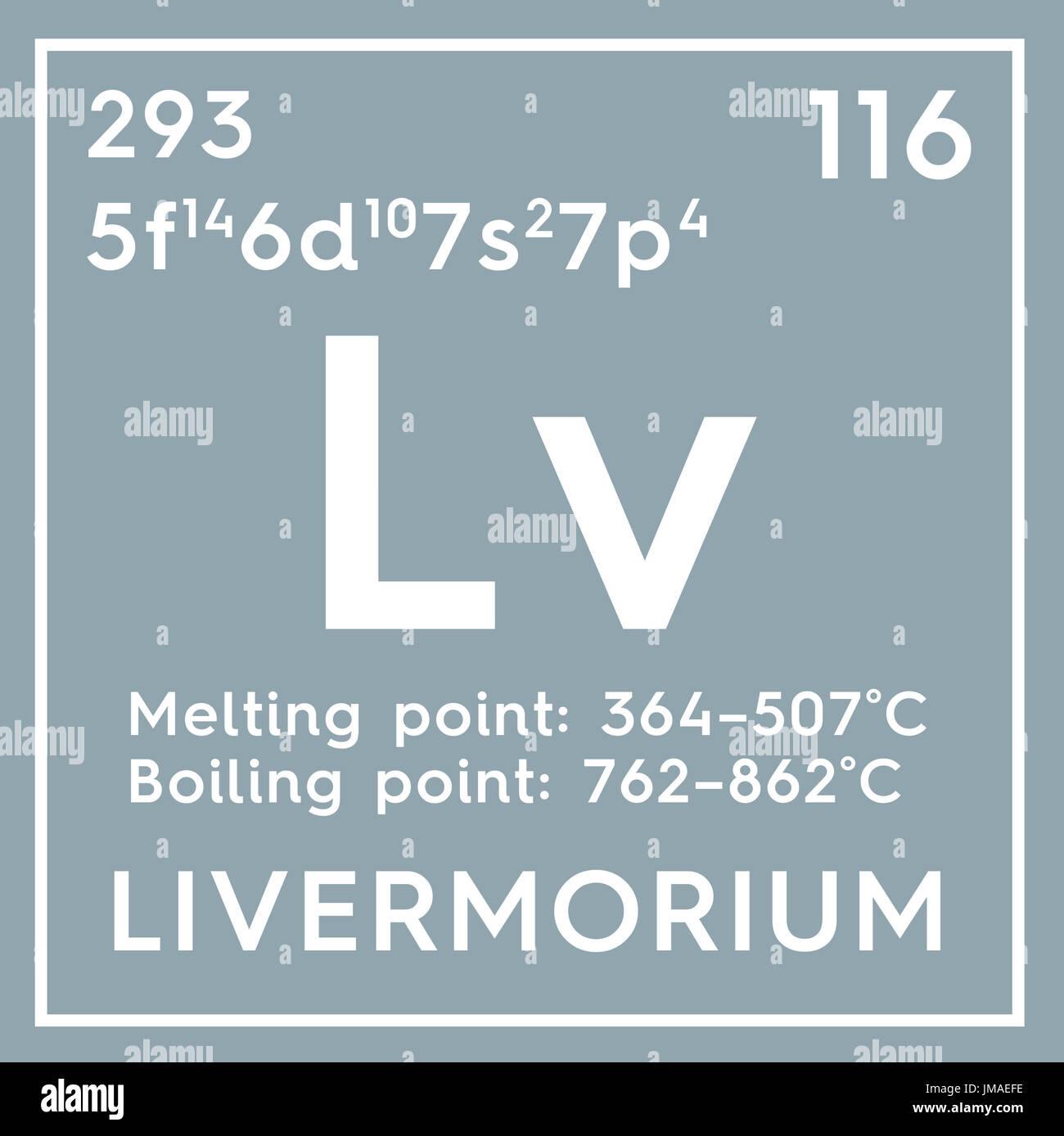 Livermorium post metales de transicin elemento qumico de la post metales de transicin elemento qumico de la tabla peridica de mendeleyev en livermorium square cube concepto creativo urtaz Images