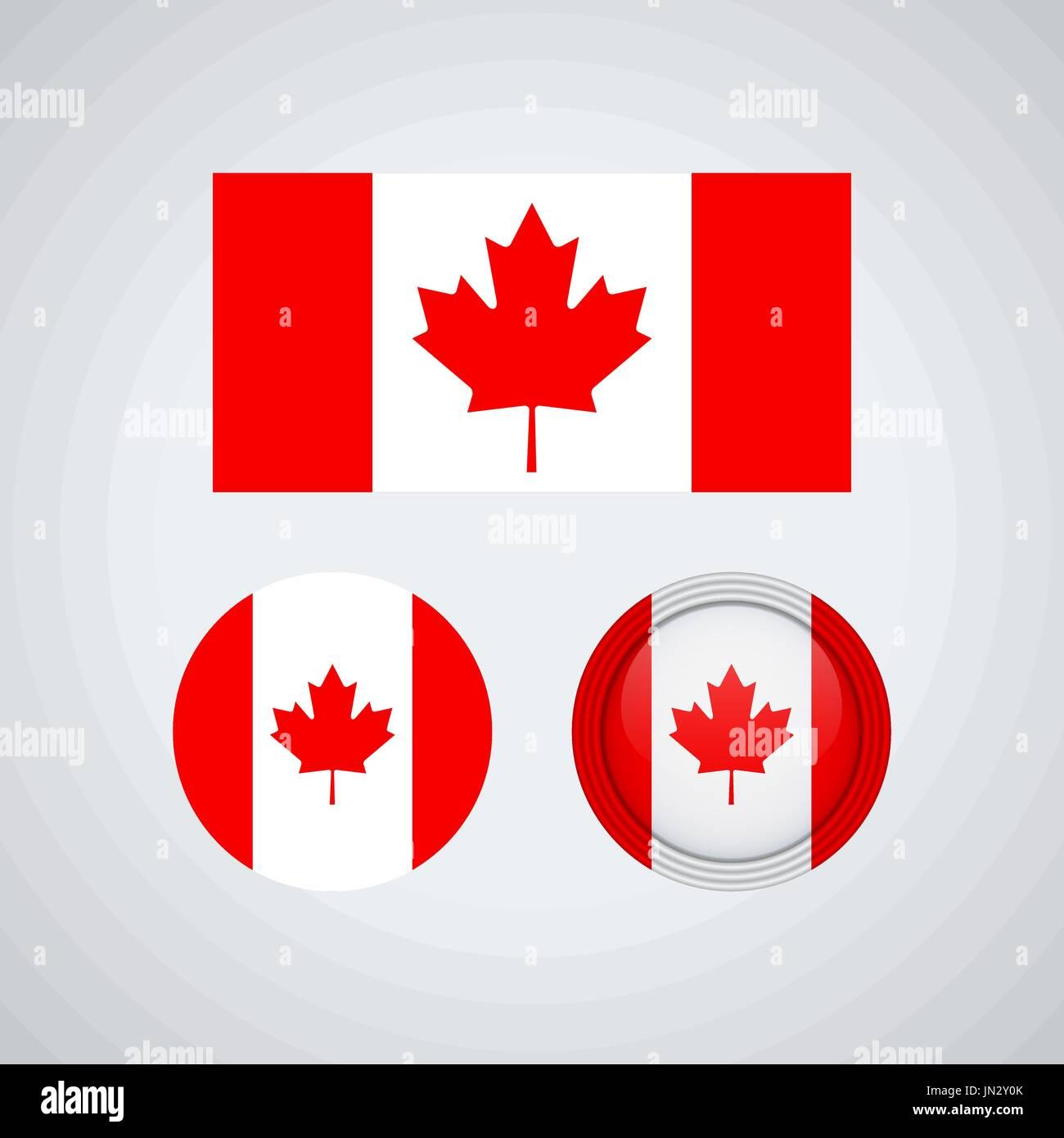 Badge Canadian Flag Imágenes De Stock & Badge Canadian Flag Fotos ...