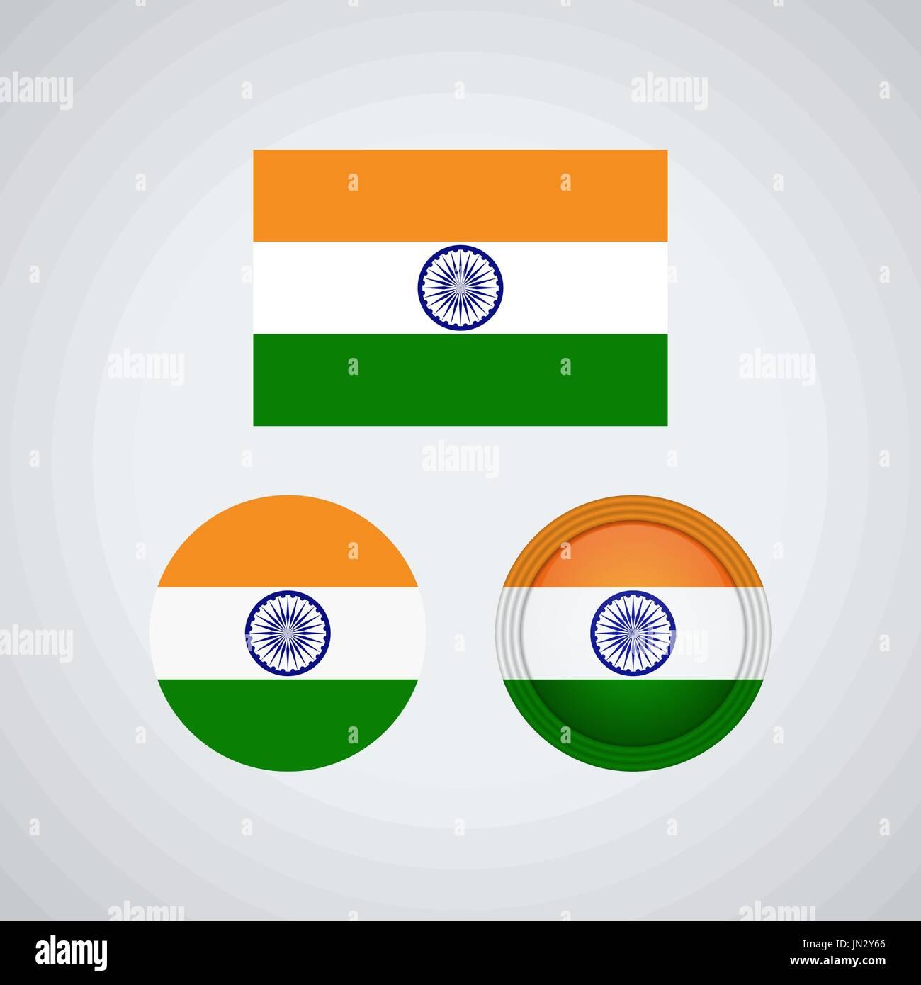 Vector Indian Flag Design Illustration Imágenes De Stock & Vector ...