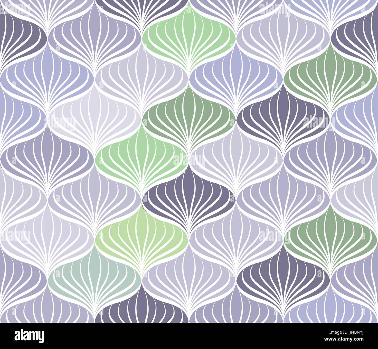 Trama perfecta abstracto geométrico oriental floral ornamento de línea Foto de stock
