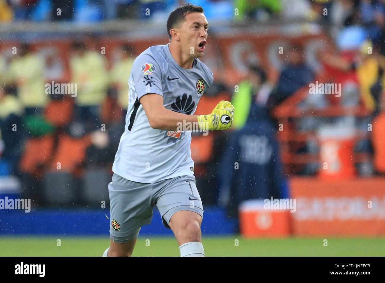 e15188640fa America's jugador Agustín Marchesin celebrar el primer gol durante el  partido entre Los Tuzos del Pachuca