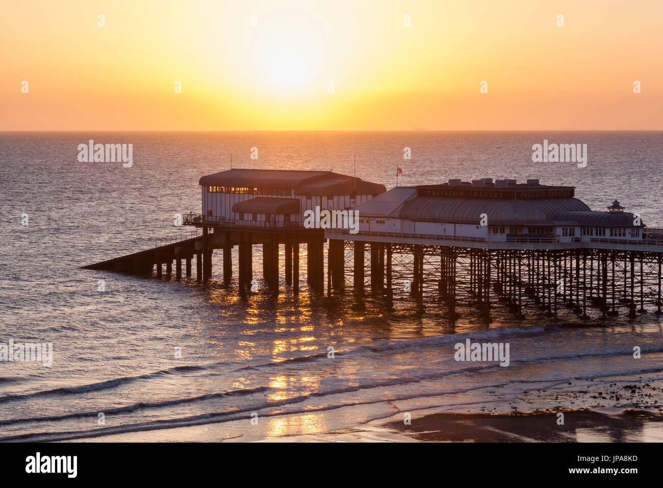 Inglaterra, Norfolk, Cromer, Cromer Pier Foto de stock