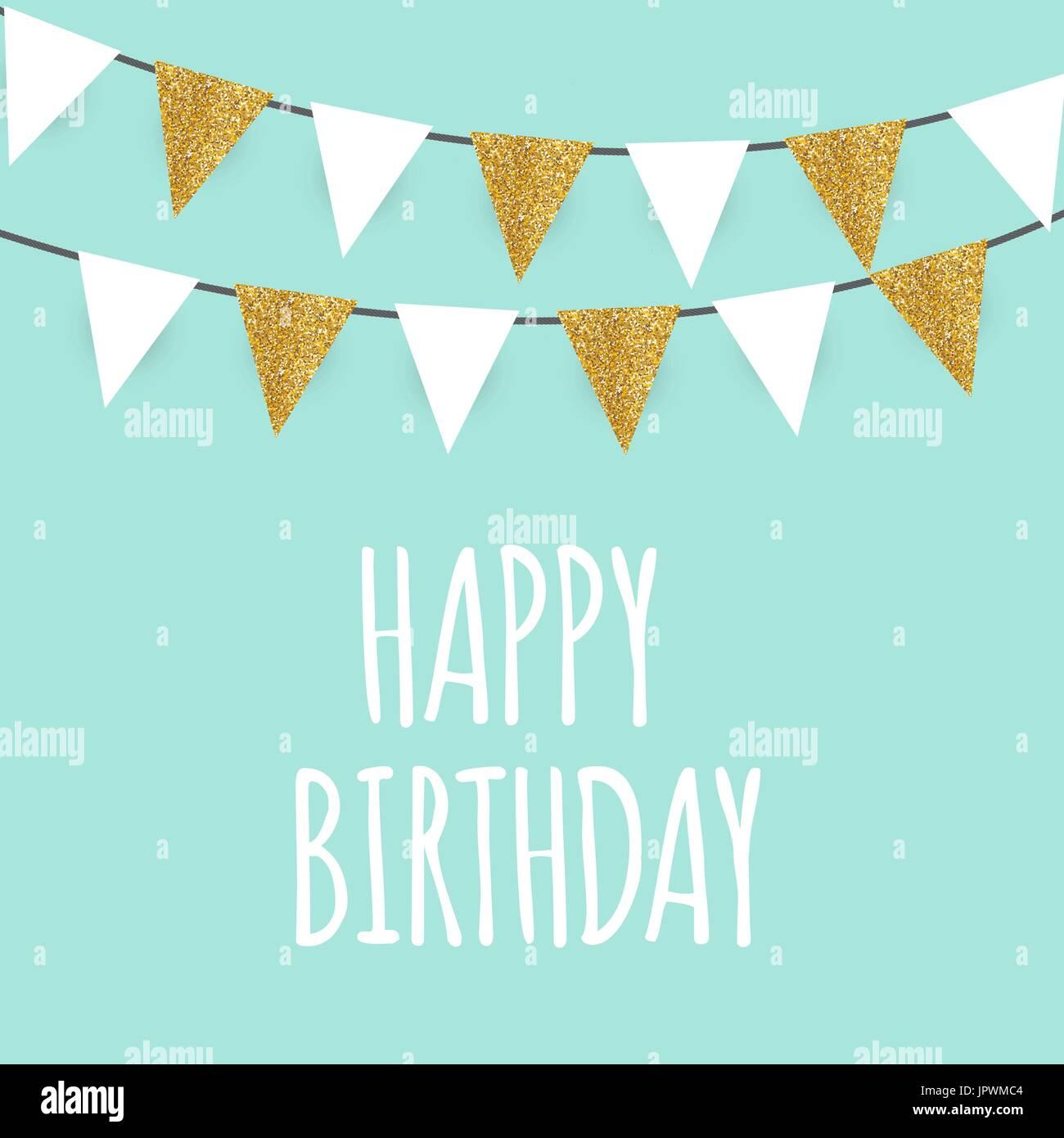 Feliz Cumpleaños Felicitación Y Plantilla De Tarjeta De