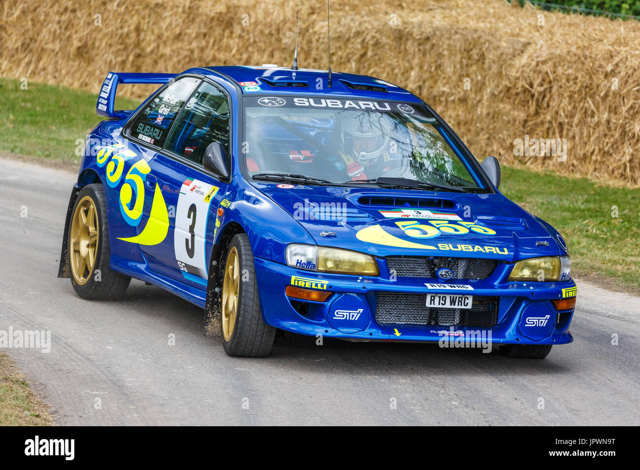 ex colin mcrae 1997 subaru impreza wrc rally de coches con chofer steve rockingham en el 2017. Black Bedroom Furniture Sets. Home Design Ideas