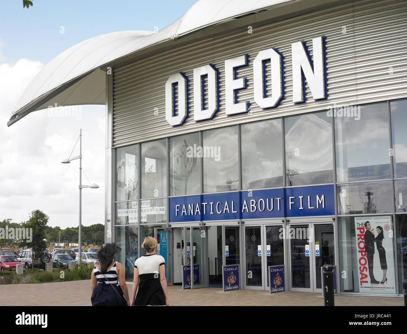 El cine Odeon Foto de stock