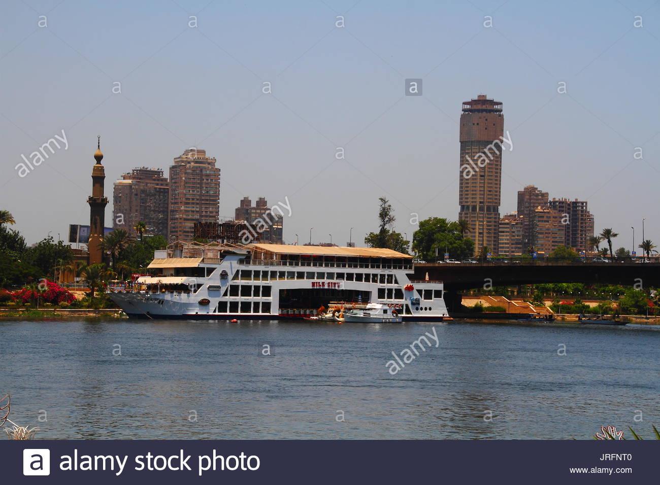 Egipto - El Cairo - El Nilo. Imagen De Stock